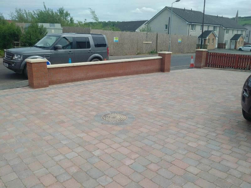 Driveway Project From Drumclog Plant